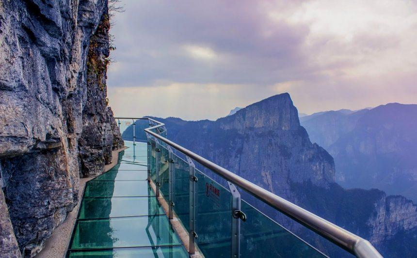 Cтеклянные мосты Китая